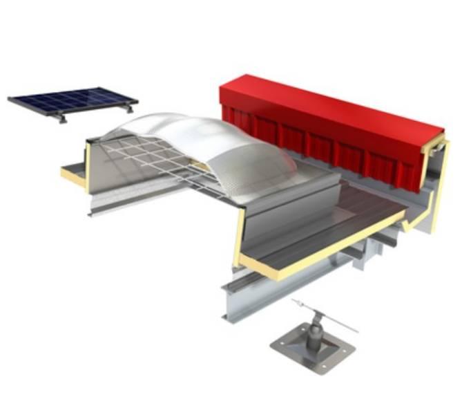 KS1000 LP Insulated Roof Panel System PIR - Steel