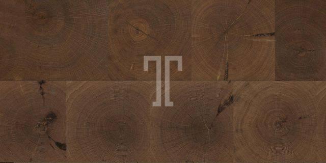 PARQUETRY Collection - End Grain Oak Plank