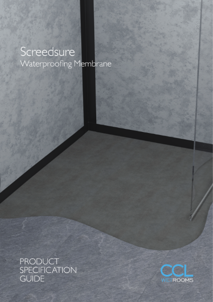 Waterproofing Wet Rooms - Screedsure