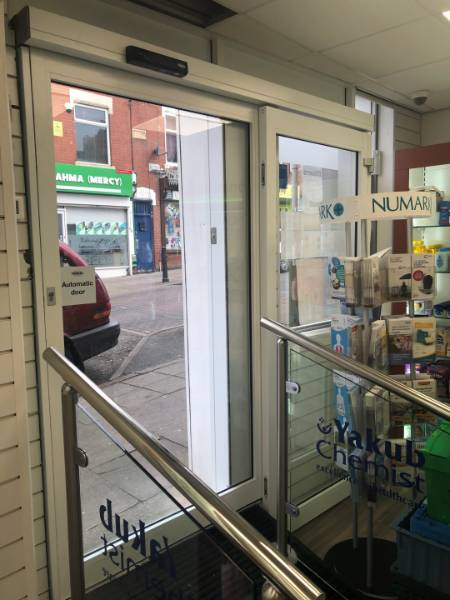 ACCESSIBLE ENTRANCE FOR COMMUNITY CHEMIST