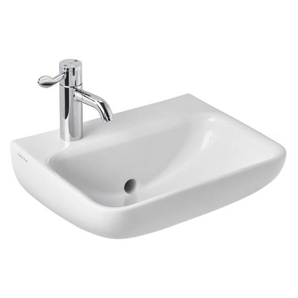 Contour 21+ 50cm Back Outlet Washbasin