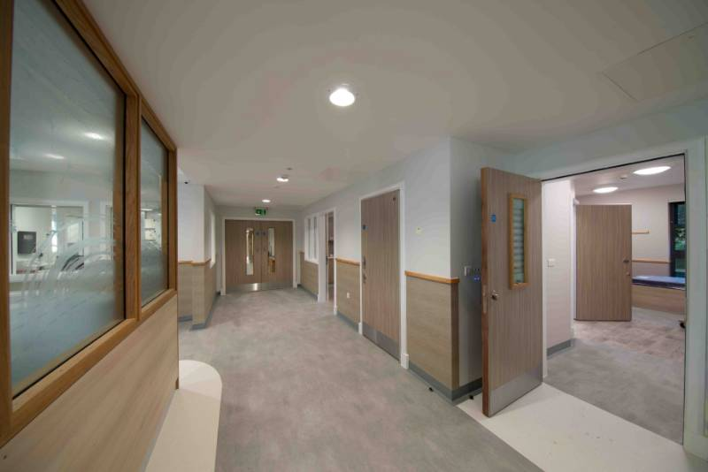 PYROSEC® 19 combines security, fire and safety for new hospital