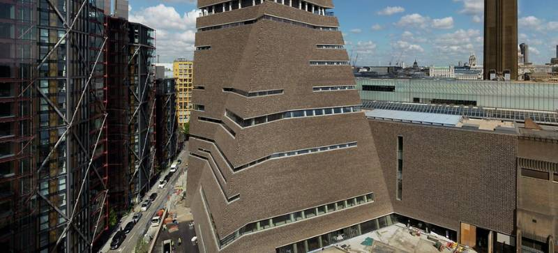 REHAU TABS AT NEW TATE MODERN BUILDING
