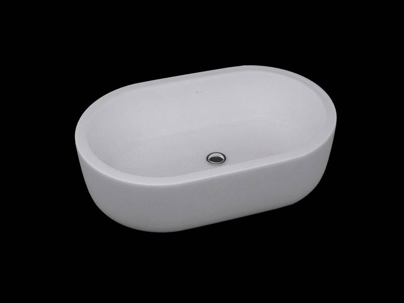 ARCHITECTURA Surface Mounted Washbasin 4126 61 XX