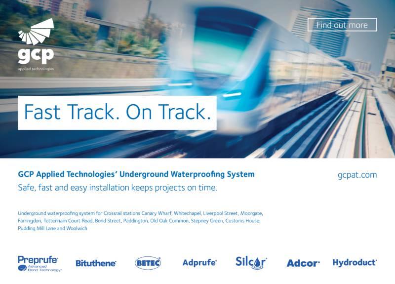 Waterproofing Crossrail Deep Underground with Preprufe®
