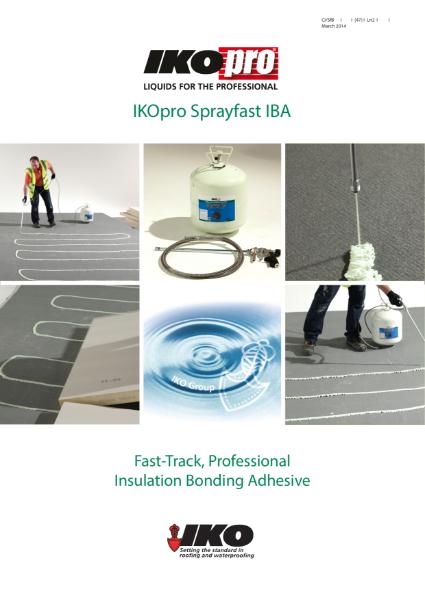 IKOpro Sprayfast IBA: Insulation Bonding Adhesive