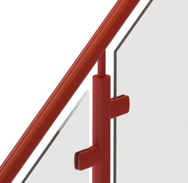 Spectrum Powder Coated Aluminium Balustrade