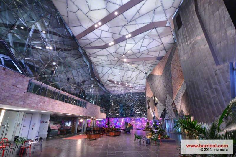 Barrisol Acoustic Light® - Federation Square - Australia