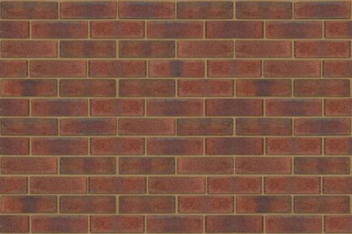 New Burntwood Red Rustic - Clay bricks