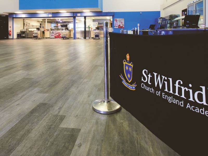 Polyflor LVT and Safety Flooring join forces for school refurbishment