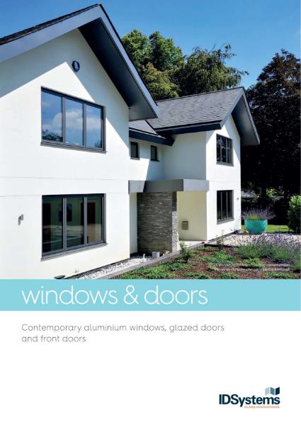 IDSystems aluminium windows brochure