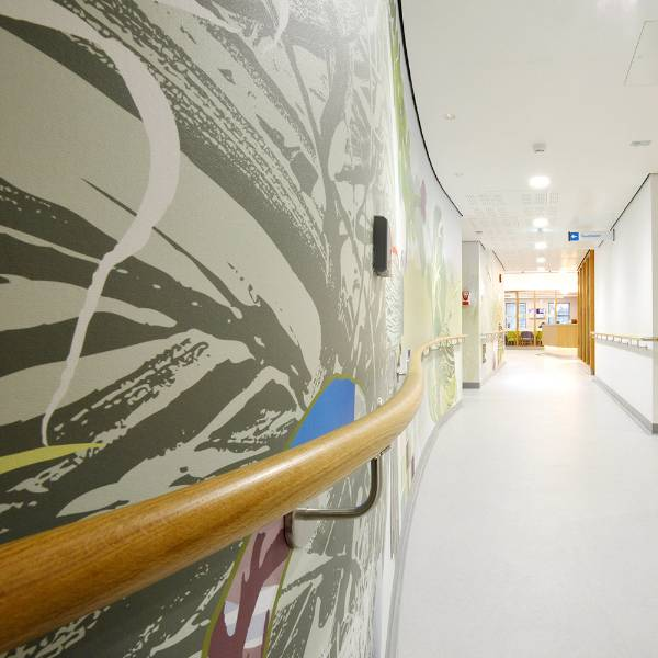 Interior Protection at the New Cancer Centre