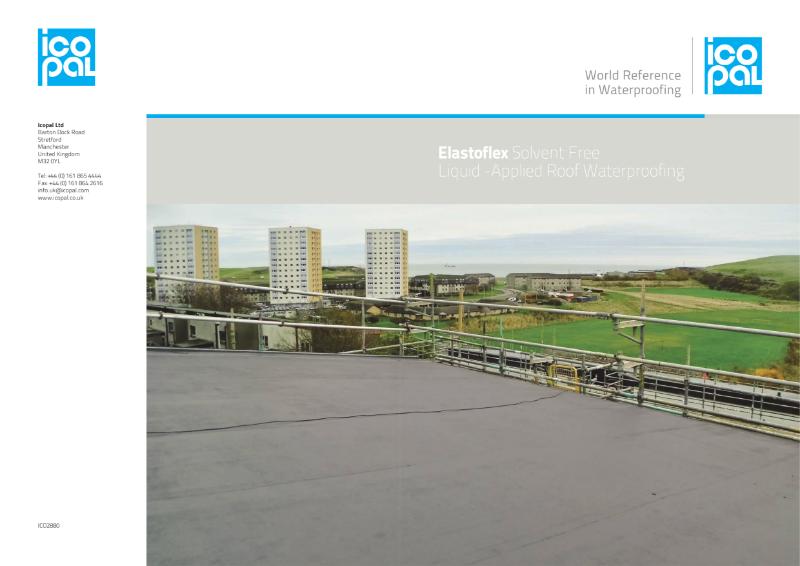 Icopal Elastoflex Solvent Free Liquid Applied Roof Waterproofing