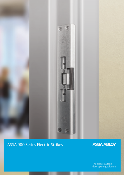 ASSA 900 Series Electric Strikes