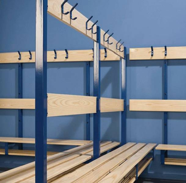 Wall-bearing Changing and Cloakroom Units
