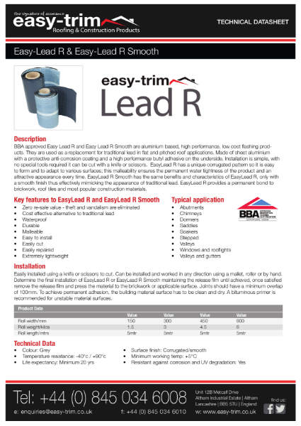 Easy-Lead Lead Replacement Systems