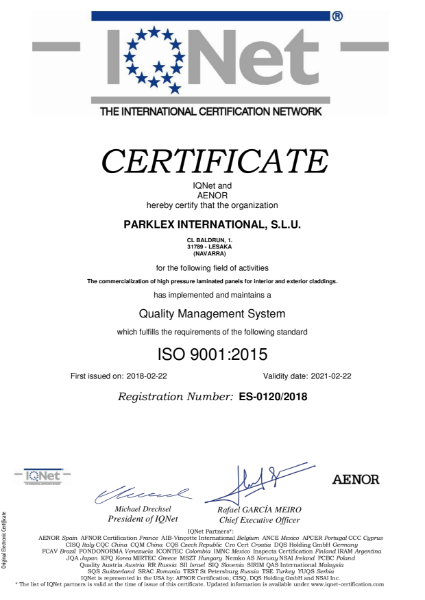 Quality Management System - ISO