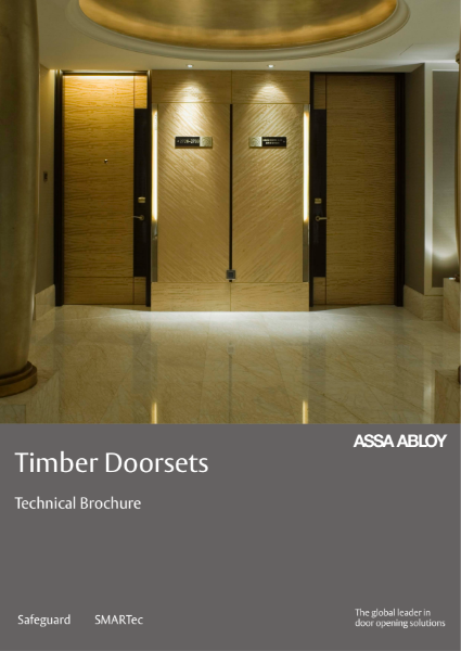 ASSA ABLOY Security Doors - Timber Technical Brochure