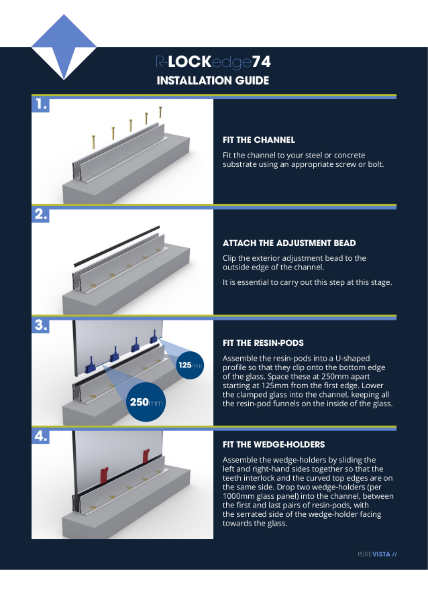 R-LOCKedge74 Installation Guide