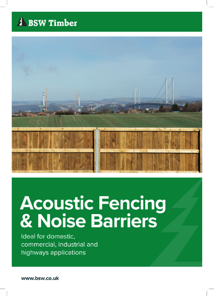 Acoustic Fencing & Noise Barriers