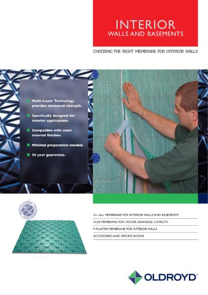 Interior Walls and Basements - Choosing the Right Membrane