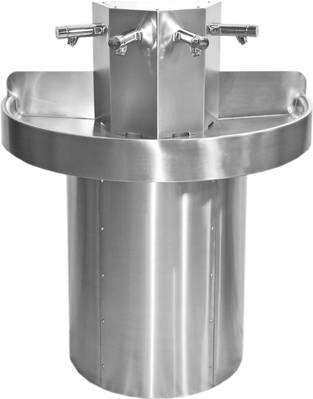 Circular Wash Trough - 8 person