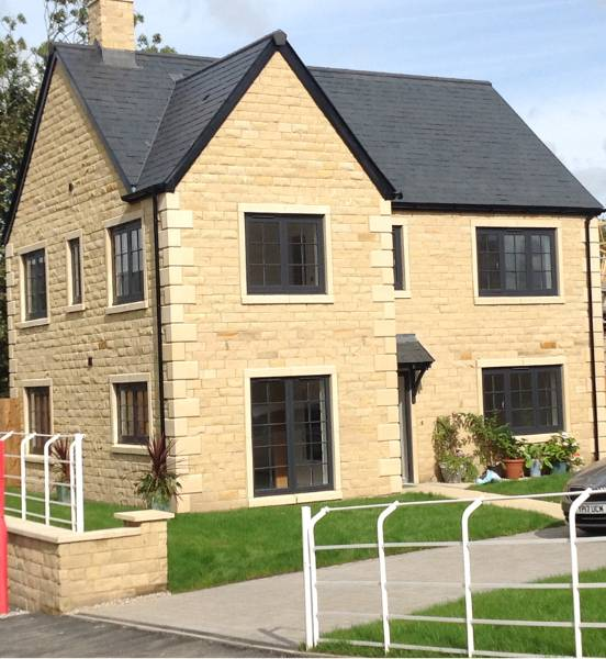 Over 300 Profile 22 Optima windows were installed in a private housing development in Chipping near Preston in Lancashire.