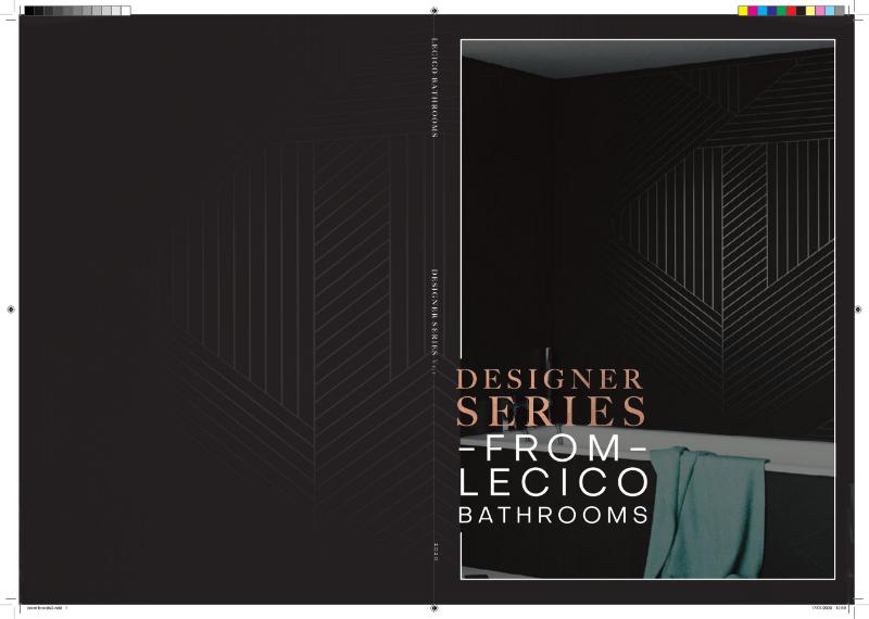 Designer Series from Lecico Bathrooms