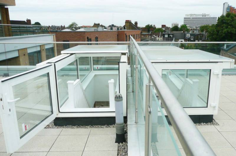 Boxed Glazed Sliding Rooflights - London