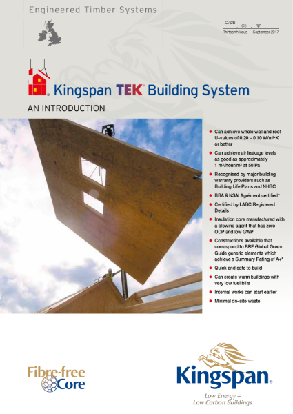 Kingspan TEK Building System: An Introduction