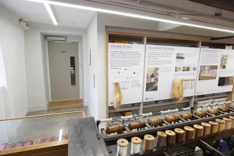 Stannah Weaves Tailored Lift Access in UK's Oldest Silk Mill