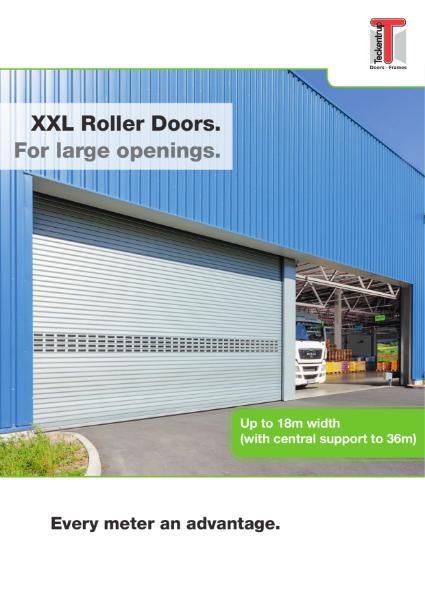 Teckentrup XXL large roller shutter Door