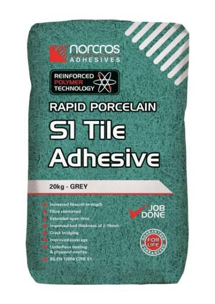 Rapid Porcelin Grey S1 Tile Adhesive