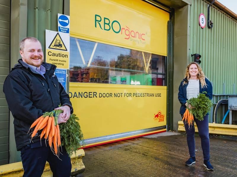 Union Industries installs a trio of Bulldoors for premium organic vegetable producer RBOrganic