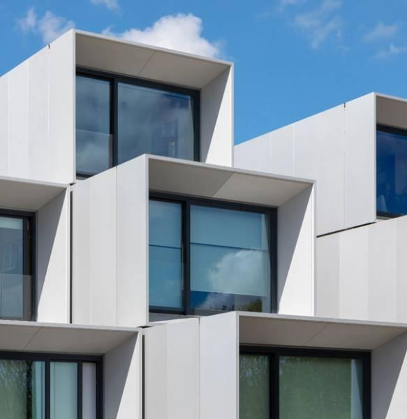 WilkinsonEyre's modular student villag