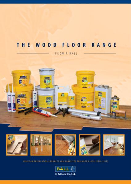 Wood Flooring Adhesives