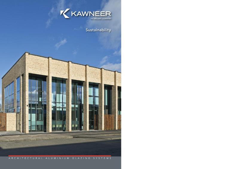 Kawneer Sustainability Brochure