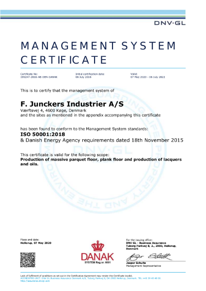 ISO50001-certificate