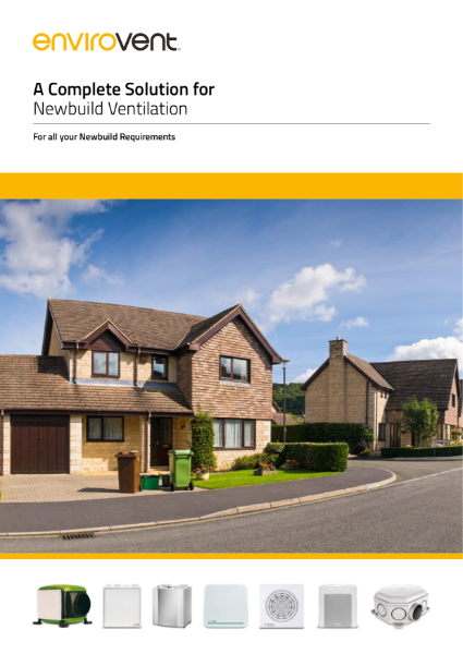 Whole House Ventilation Systems for New Build Property Developments