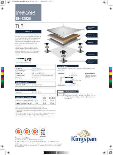 TL3 (Class 3 Access Floor)