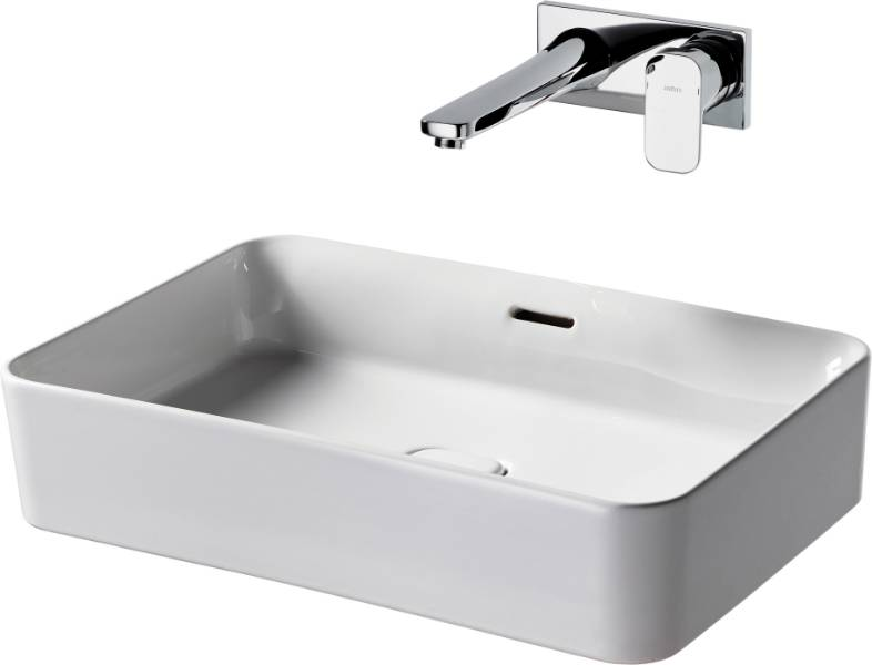 Fusaro Basin 100 White NTH WHG
