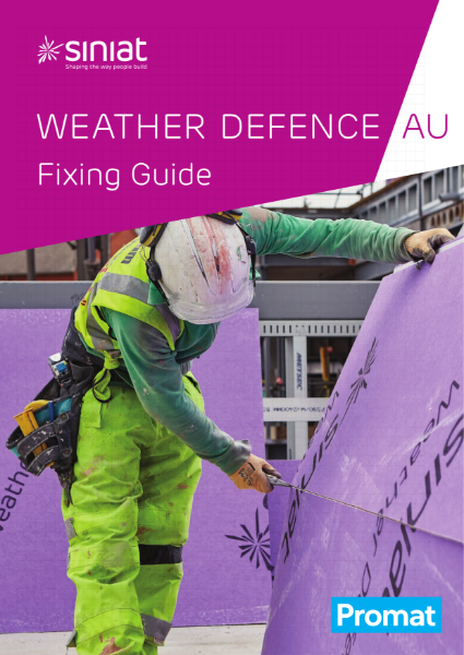 Siniat Weather Defence Fixing Guide_AU_English_20.06_rev3