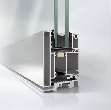 Aluminium blast-resistant door - ADS 90 XR