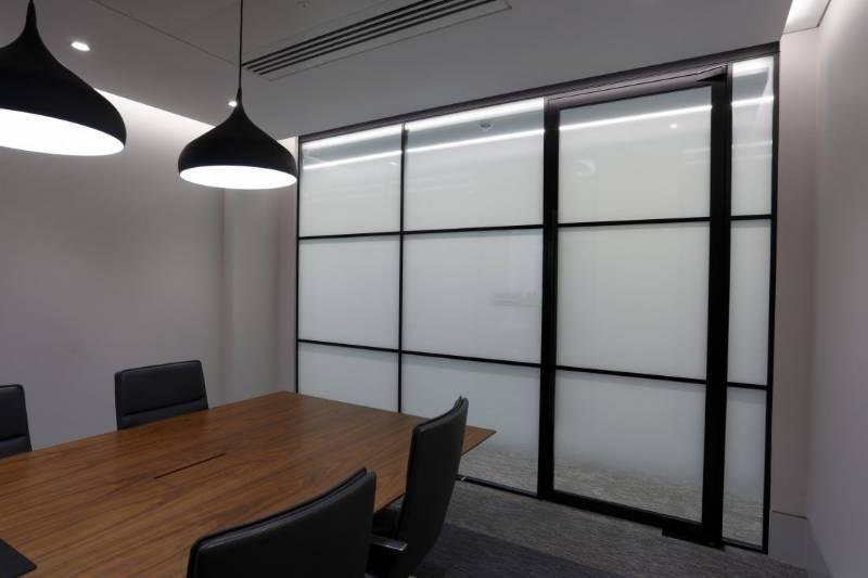 LOFT54 Double Glazed Panel Partition System (True)