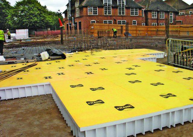 Pecavoid RDS Substructure Formwork
