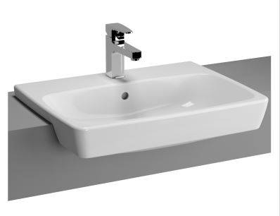 M-Line semi-recessed basin