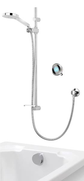 Q - Concealed With Adjustable Head And Bath Overflow Filler High Pressure