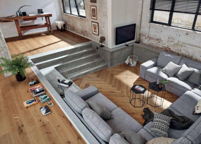Herringbone Engineered Hardwood Flooring