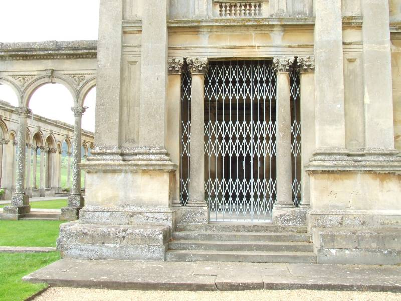 Bolton Gate protect Grade 1 listed building at Witley Court