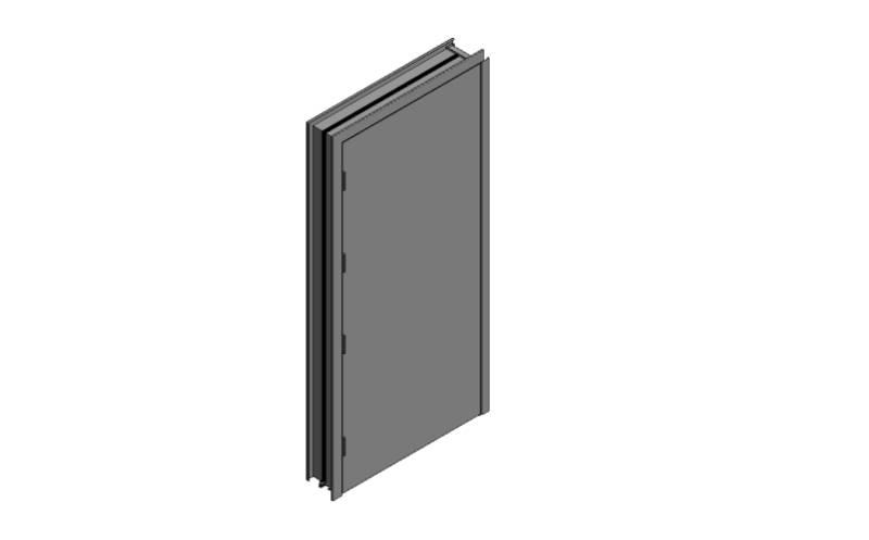 OUTA-DOR Inward Opening B - Single Frame